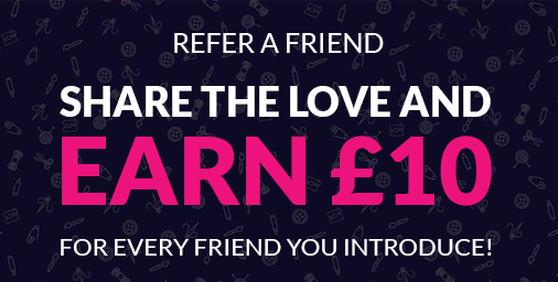 Refer a friend and you both earn rewards!