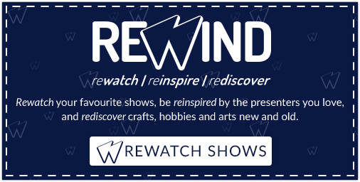 Rewind homepage advert watch now