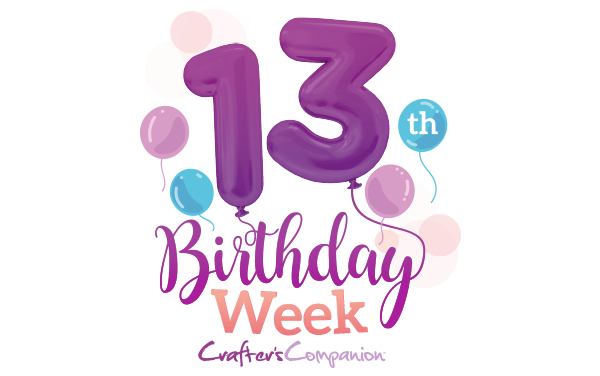 Crafters Companion 13th Birthday