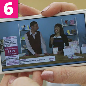 Step 6:The video will now begin to play.Turn your phone on its side and enjoy watching Hochanda live and in full HD