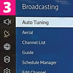 Step 3:Select autotuning