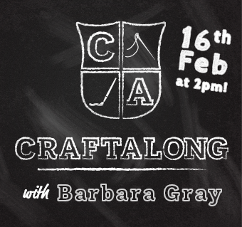 Craftalong with Barbara February 2020