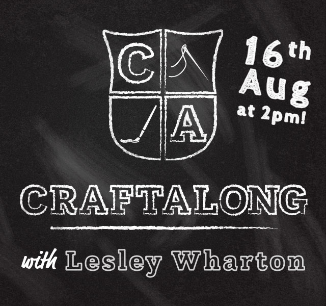 Craftalong with Lesley August 2020