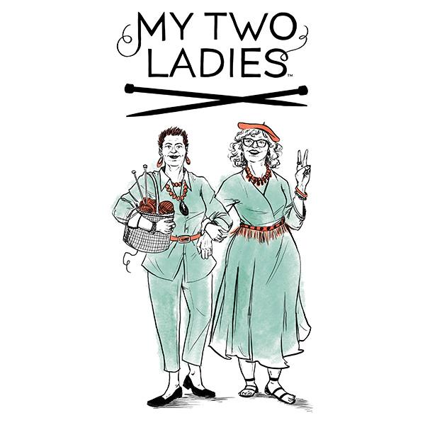 My Two Ladies Knitting