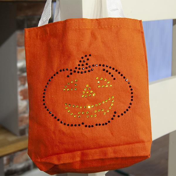 Rhinestone Genie - Pumpkin