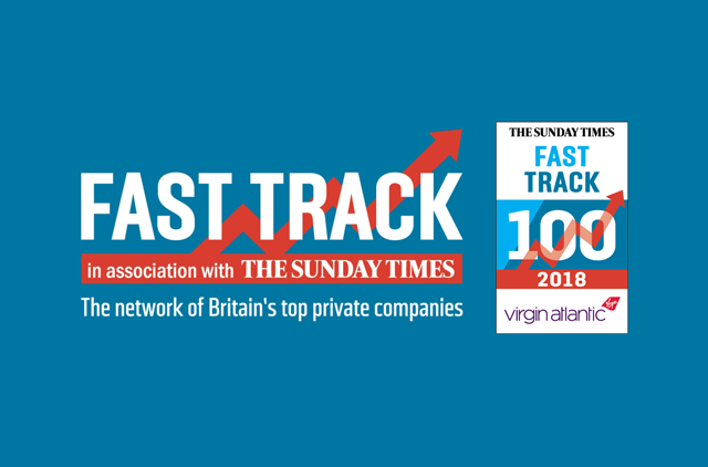 Sunday Times Fast Track Top 100 'One's to Watch' award