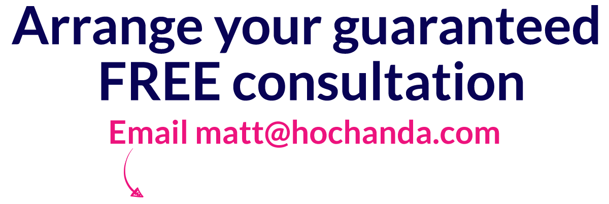 Arrange your guaranteed free consultation