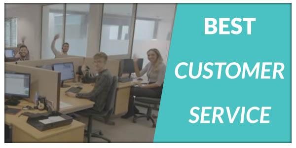 best customer servicex