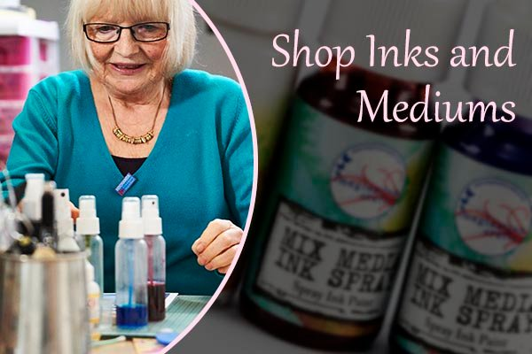 Shop inks and mediums