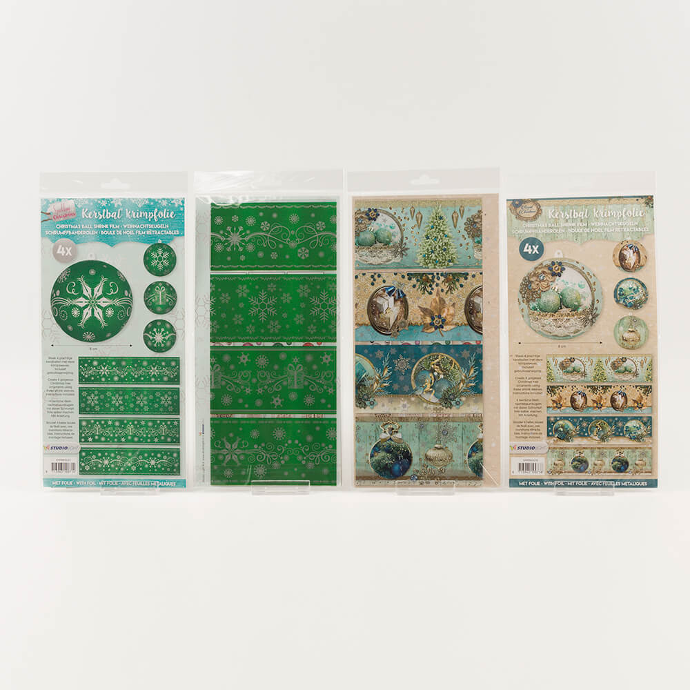 luv crafts royal christmas shrink wrap collection 16 x shrink films