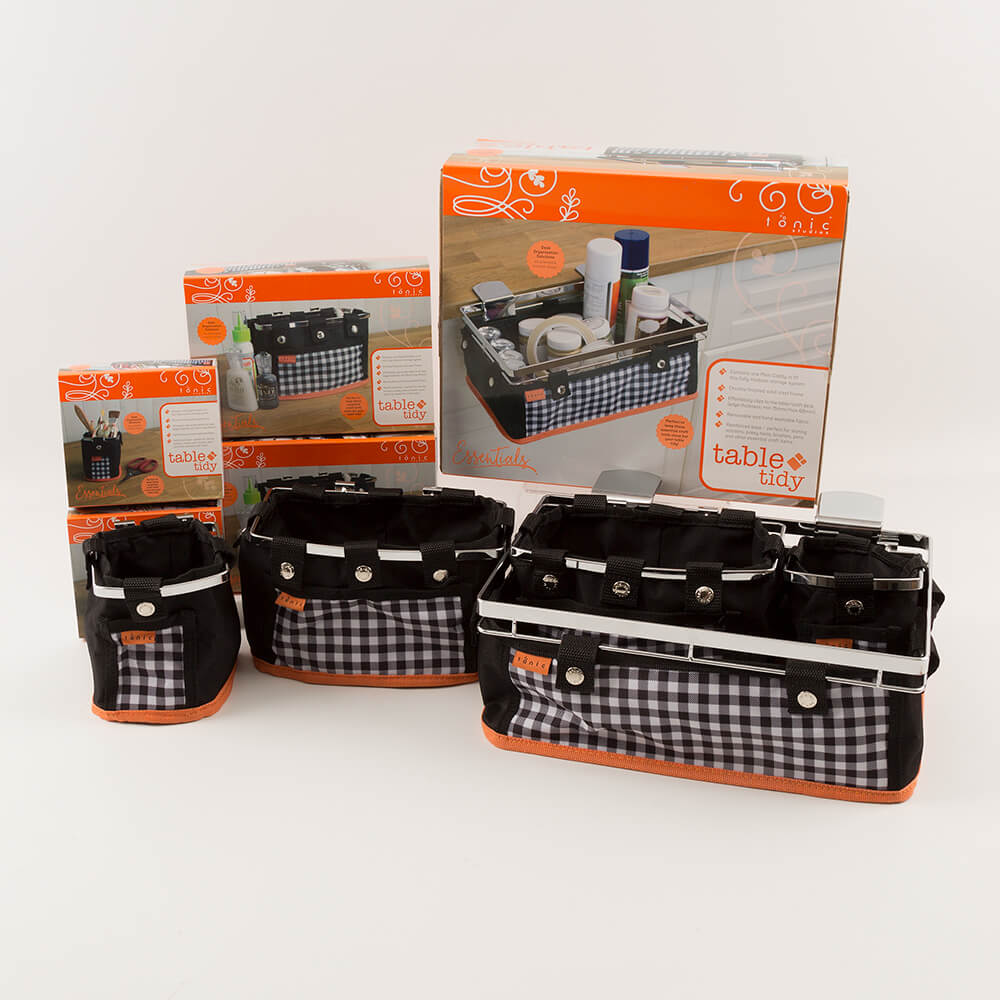 Good Table Caddy Set Part - 13: Tonic Table Tidy Complete Set Includes Main Caddy 2 X Single P-294099 ...