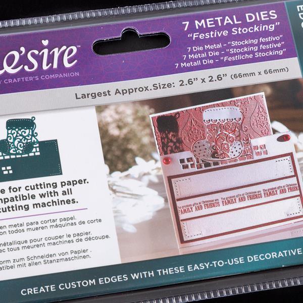 Card-festivo Flores 3 muere Crafters Companion-Gemini-Create-a