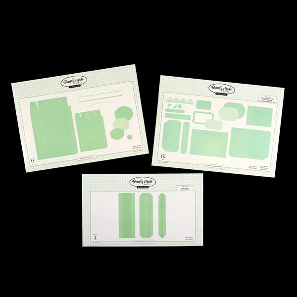Simply Made Crafts Die Set Landscape Photo Album Set of 16Album Collection