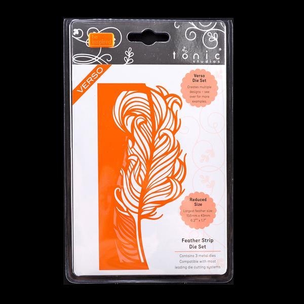 Tonic Feather Strip Die Set   3 Dies-622779