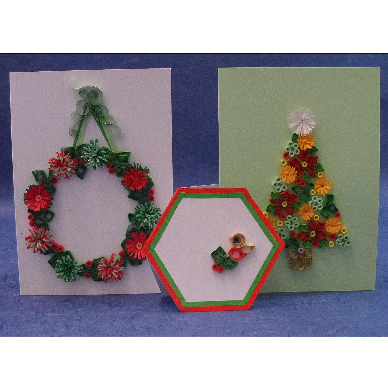 past times quilling christmas quilling for cards and boxes kit