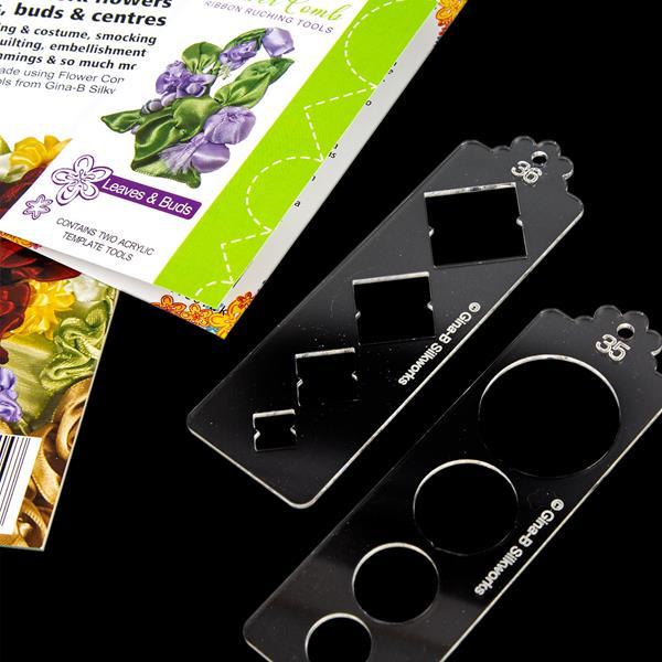 Gina-B Silkworks Yubinuki Thimble Template Tool Kit with Thread