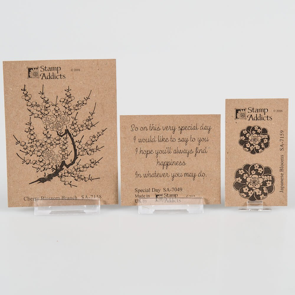 Happiness Rubber Stamp Japanese
