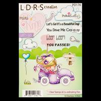 Little Darlings Lets Go Minnie Winnie Stamp and Die Collection - -000893