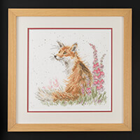 Stitch Kits Wrendale Fox Counted Cross Stitch Kit-000912