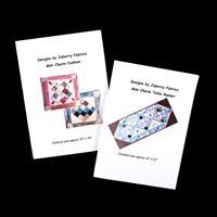 Juberry Fabrics Mini Charm Pattern Duo - Table Runner & Cushion-000937