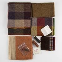 Fabric Affair Tweed Cushion Kits - 100% Wool-003225