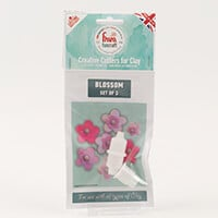 FMM FunCraft Set of 3 Blossom Cutters-004067