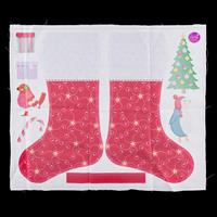 Dawn Bibby Stocking Panel 50cm x 50cm 100% Cotton-005530