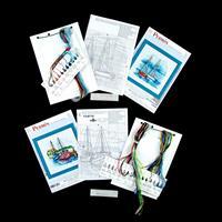Permin Set of 2 Aida Cross Stitch Kits-006294