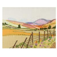 Rowandean Embroidery Cumbria Landscape Embroidery Kit - 40cm x 28-006675