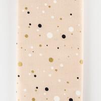 Threaders Golden Speckles on Cream - 1 Metre-007153
