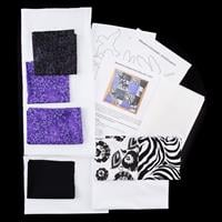 Quilt Dragon Kits - Silhouette 16 Square Patch Quilted Cushion Co-009130