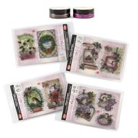 Viva Decor 4 x Christmas Stamp Sets & 2 x 3D Stamp Paints - 50ml -009239
