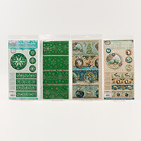 Luv Crafts Royal Christmas Shrink Wrap Collection - 16 x Shrink F-009625