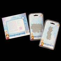 Disney Frozen Die Set with Single Die and 3 x Embossing Folders-010072