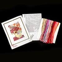 Thea Gouverneur Flower Jug Cross Stitch Kit - 24cm x 34cm-011864