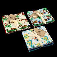 Perfect Occasions Set of 3 x 100% Cotton Fat Quarters Bundles - P-013372