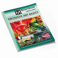 Encaustic Art Basics A4 Book by Michael Bossom - 80 Pages-013711