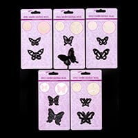 Hobbyidee 5 Butterfly Die Sets - 10 Dies Total-013852