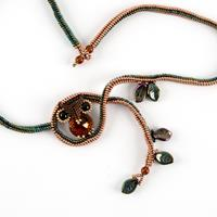 Spellbound Beads Owl Necklace Kit-014766