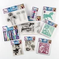 Sara Signature Enchanted Forest - Paper Pad, Dies, Stamps & Embos-015057