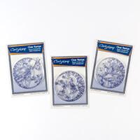 Claritystamp 2 x Fine Line Stamp Sets and Masks with Bonus Stamp -016903