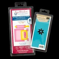 Spellbinders & Couture Creations Die Sets - Pointed Flower & Fanc-018083