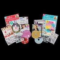 Crafter's Inspiration Magazine Kits - Issues 20 & 21 Both with £1-018658