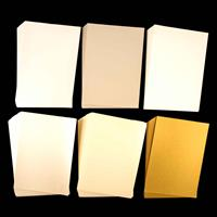 Assorted Set of A4 Card - Matte, Shimmer, Ridged & Pearlescent - -021159