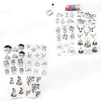 Glitter Greetings Christmas Designs - Includes 12 Designer Acetat-021292