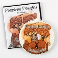 Peerless Designs Tea Stain Doodles Papercraft CD-ROM-023104