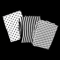 Perfect Occasions Set of 3 100% Polyester Fabrics - Monochrome Co-023243