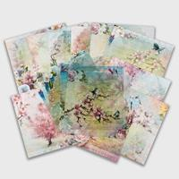 Spring by The Craft Box - 10 x Double Sided Designs Paper Pad & 4-023600