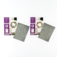 Crafter's Companion 2 x A6 Rubber Stamp Sets - Let Love Grow & We-023882