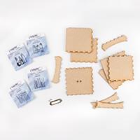 IndigoBlu Collectors Edition Kit - 4 Dinkie Stamps, MDF Box & 1 M-025630